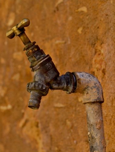 brown tap - Water Audits